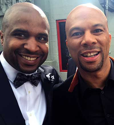 Photo of Cayman Kelly and Common