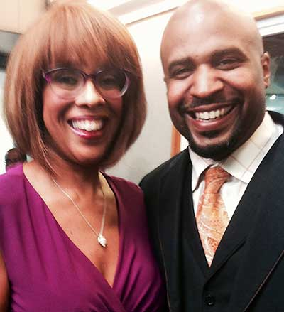 Photo of Gayle King and Cayman Kelly
