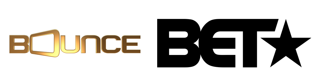 BOUNCE TV And BET Logos